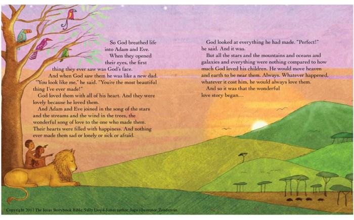 JESUS STORYBOOK ILLUSTRATION