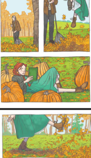 ANNE OF GREEN GABLES GRAPHIC NOVEL ILLUSTRATION