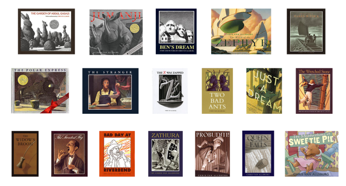 CHRIS VAN ALLSBURG BOOKS