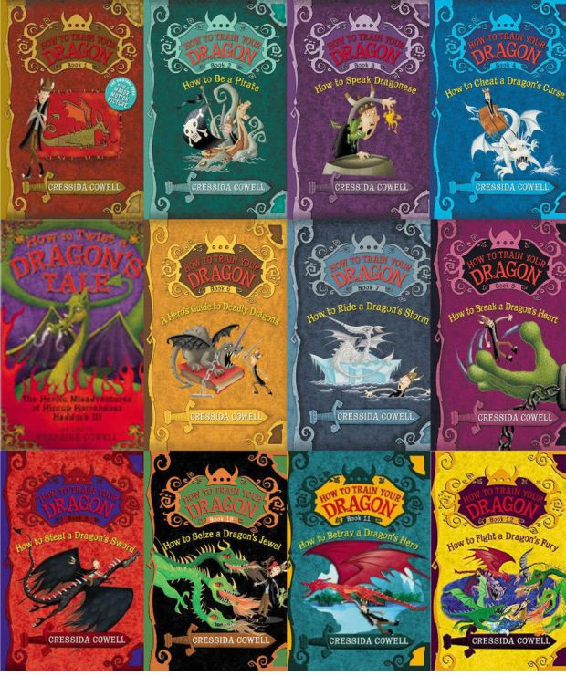 Image result for How to train your dragon book series